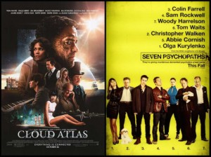 Mini Review: Cloud Atlas and Seven Psychopaths