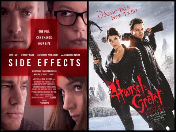 Side Effects and Hansel & Gretel Witch Hunters