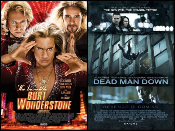 Mini Review: The Incredible Burt Wonderstone and Dead Man Down