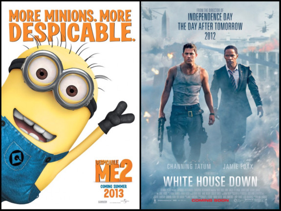 Mini Review Despicable Me 2 And White House Down