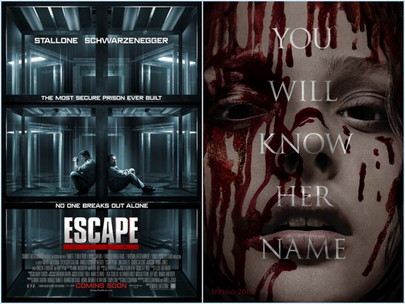 Escape Plan and Carrie
