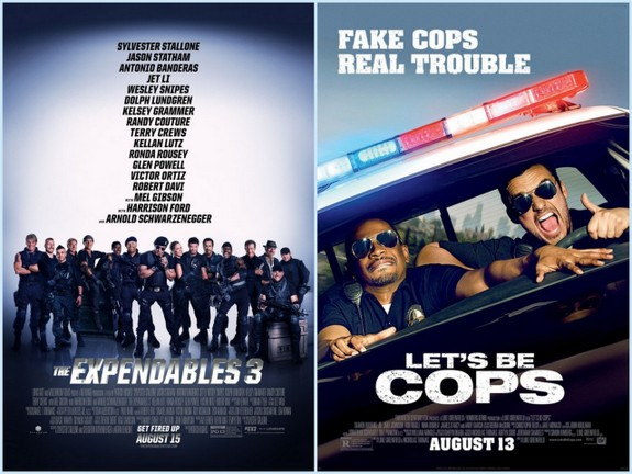 Expendables 3 and Lets Be Cops