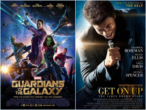 Guardians of the Galaxy and Get on Up