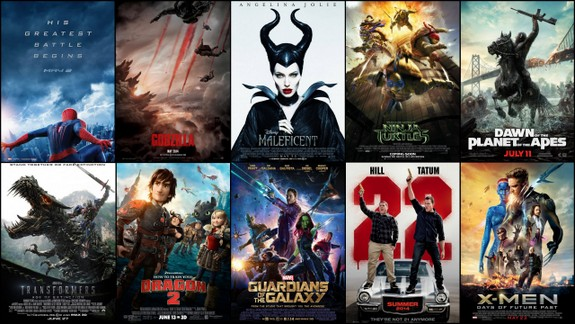 2014 Summer Movie Retrospective