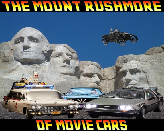 The Mount Rushmore Of Movie Cars